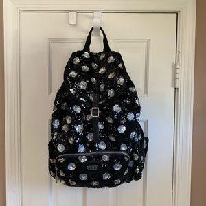 PINK VS Polka Dot Sequins Full-Size Backpack